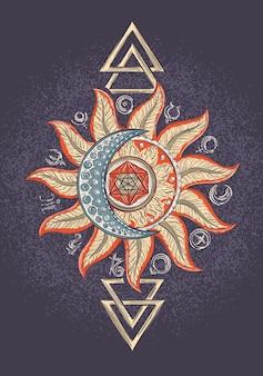 Signe magique d'alchimie