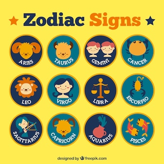 Signes du zodiaque de Nice