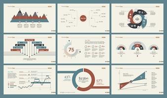 Six modèles de production Ensembles de modèles de diapositives