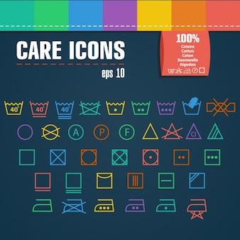Soins icon set