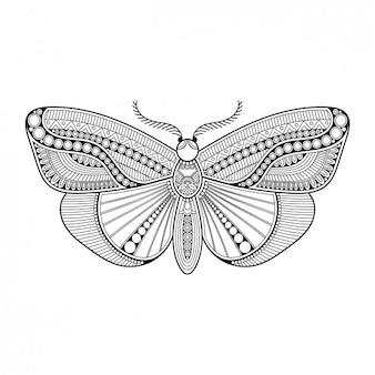 Style Boho papillon décoratif