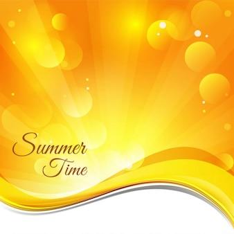 Summer background de temps