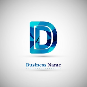 Symbole lettre D