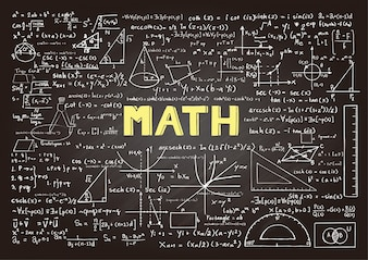 Tableau avec éléments mathématiques