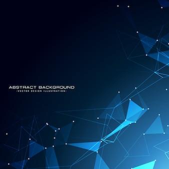 Technologie impressionnante particules conception de fond