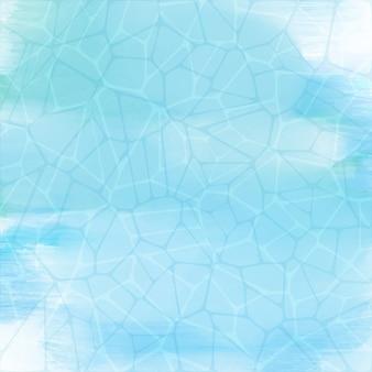 Texture de piscine sur fond d'aquarelle