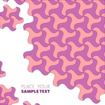 texture géométrique de couleur rose