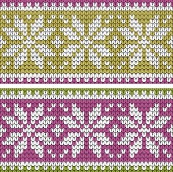 Texture pack de vecteur de fond de chandail pixel