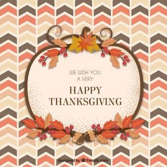 thanksgiving carte de voeux