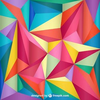 Triangle géométrique sans fond