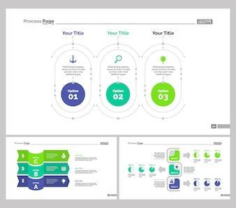 Trois modèles de diapositives de formation