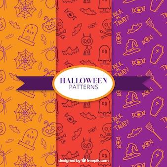Trois modèles pour Halloween