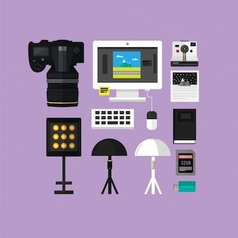 Trousse d'outils essentielle pour photograpy