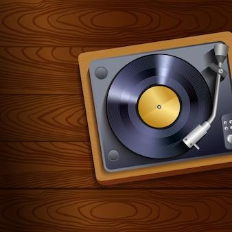 Turntable Vintage