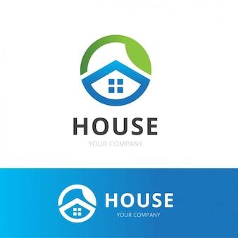 Logo maison vecteurs et photos gratuites for Logo avec une maison