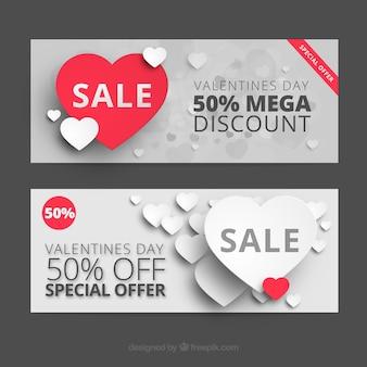 Valentine vente de coupons jour