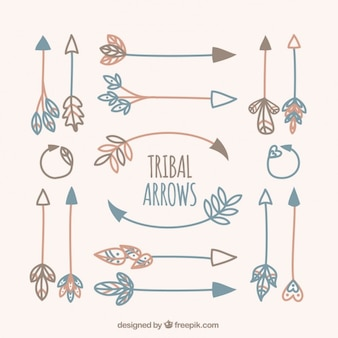 variété de flèches tribales