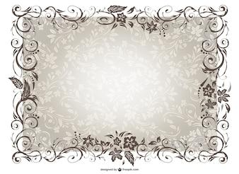 Vecteur de frame vintage