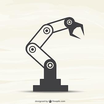Vecteur de machine robotique