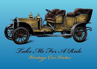 vecteur de voitures anciennes