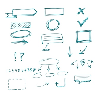 Vecteur doodle