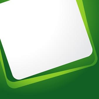 Vecteur fond vert templete design