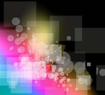vecteur illustration colorée fond abstrait