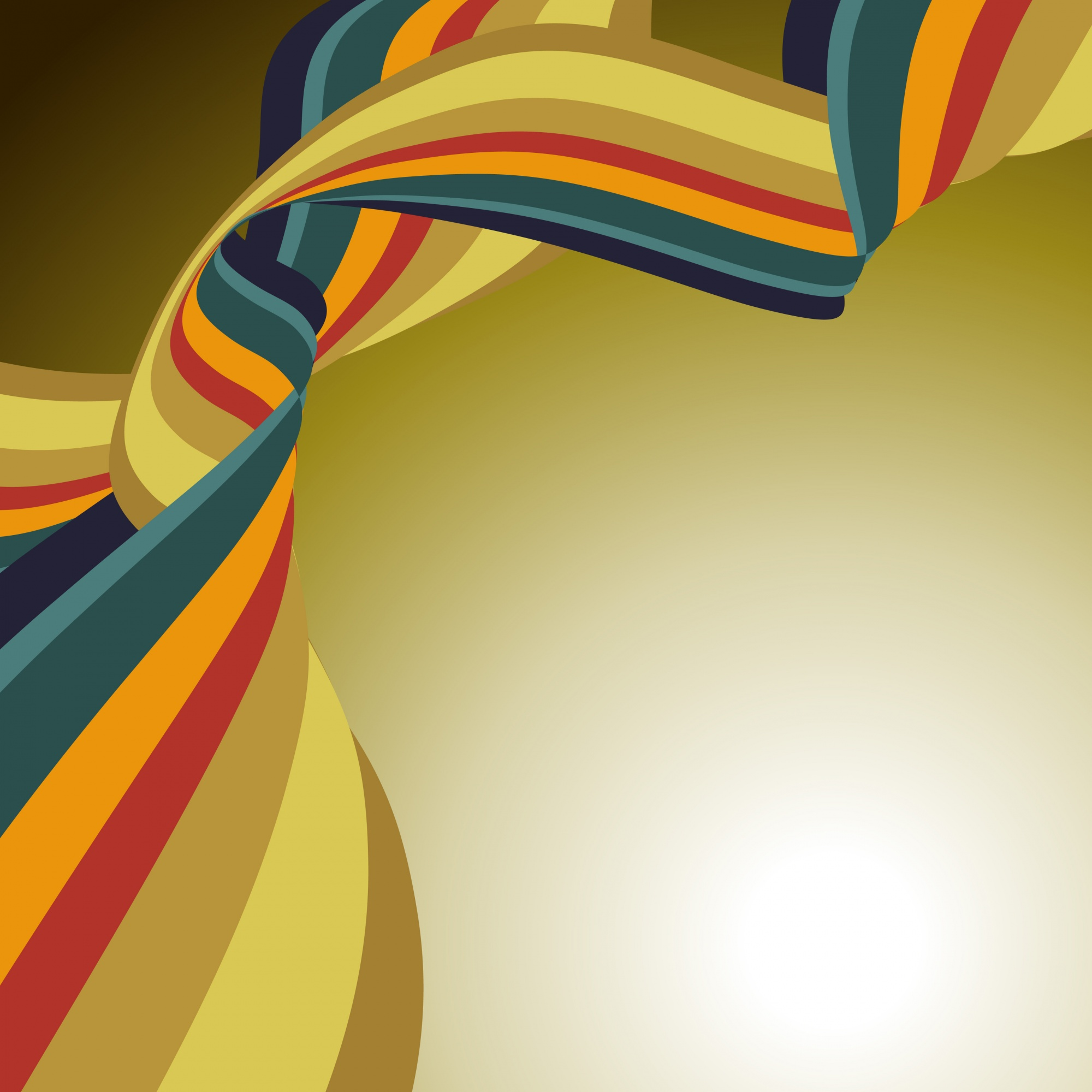 Vector abstract wave design background