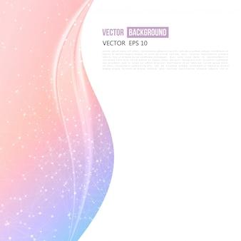 Vector abstraite conception de fond ondulé.