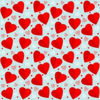 Vector seamless pattern background. La Saint-Valentin. Modèle élégant pour votre design tendre.
