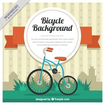 vélo mignon vintage background