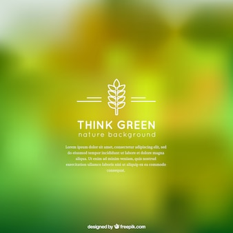 Vert, nature, fond