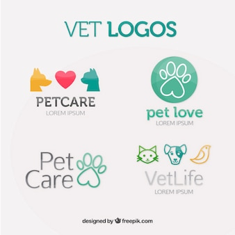 Vet collection de logo