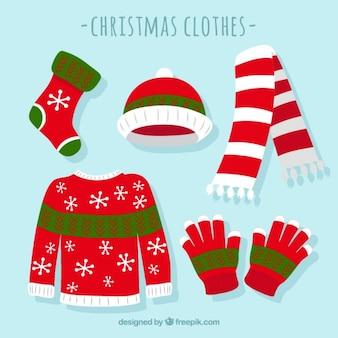 Vêtements d'hiver Mignon fixés