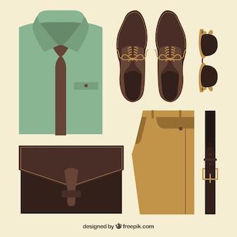 Vêtements pour hommes élégants
