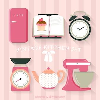 Vintage set de cuisine