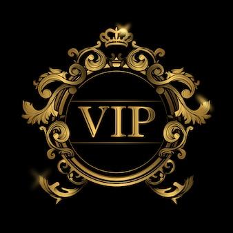 Vip background design
