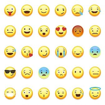 WhatsApp émoticônes souriantes