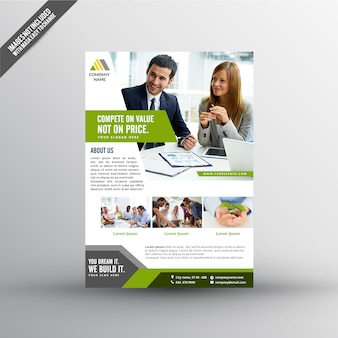 Working - Business flyer template