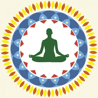 Yoga Lotus Position