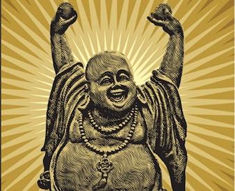 143 Buda chino