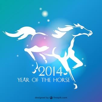 2014 Nuevo año chino del caballo