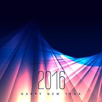2016 año nuevo en las luces