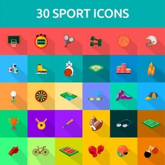 30 iconos de deporte