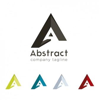 A abstracto diseño logo