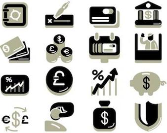 acciones ilustraciones financiación bancaria economía