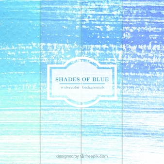 Acuarela Sombras de Fondos azules