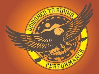 águila gráficos logo