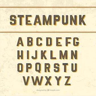 Alfabeto steampunk