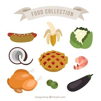 Alimentos deliciosos